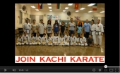 Kachi Karate Family Night Video